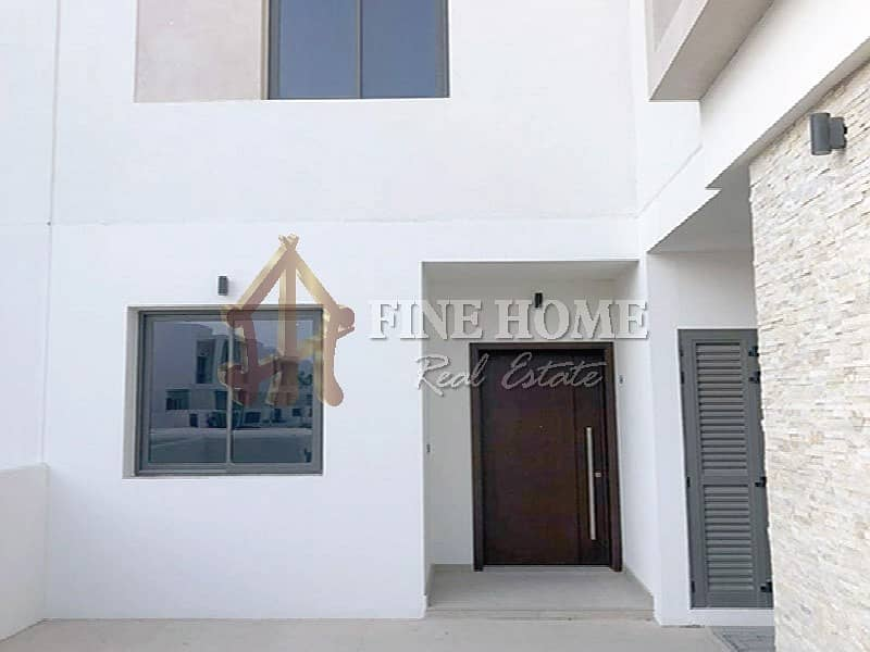 Move in to a Brandnew Townhouse 3BR in Yas Acres