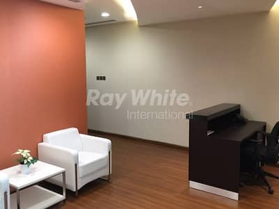 Office for Sale in Business Bay, Dubai - Beautiful Furnished Office with Balcony