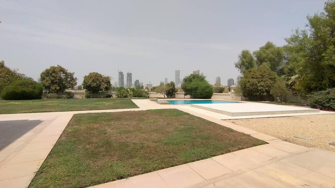 2 Landscape Garden with golf course view 6 BR Villa