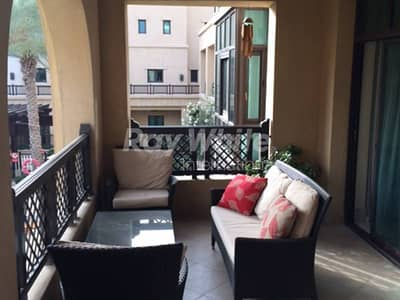 Beautiful 2 BR plus Study with Pool View