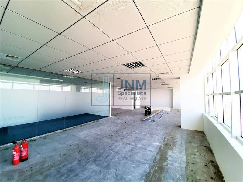 Fitted Office Space for rent in Mazaya