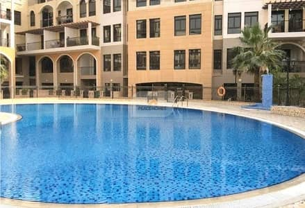 1 Bedroom Apartment for Rent in Jumeirah Village Circle (JVC), Dubai - 1MTH FREE | POOL FACING 1BR