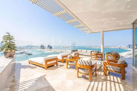 4 Bedroom Penthouse for Rent in Palm Jumeirah, Dubai - Exclusive Top Floor Lux Penthouse | Pool