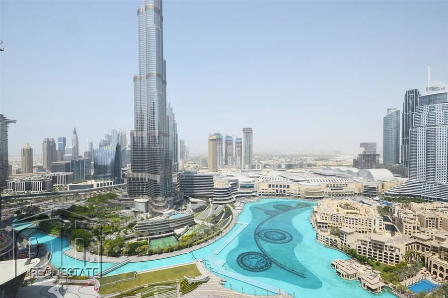 Stunning Penthouse Apartment with Unparalleled Burj Khalifa and Fountain View