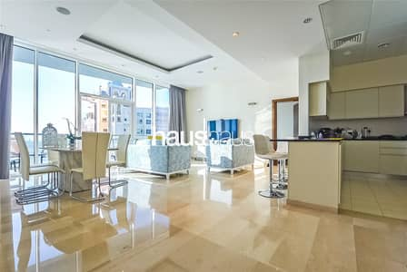 2 Bedroom Apartment for Sale in Palm Jumeirah, Dubai - High Floor | Sea View with 2 Parking Spaces