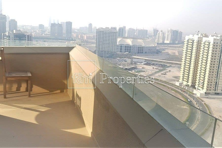 2 Furnished 2 BR | High Floor | Large Balcony