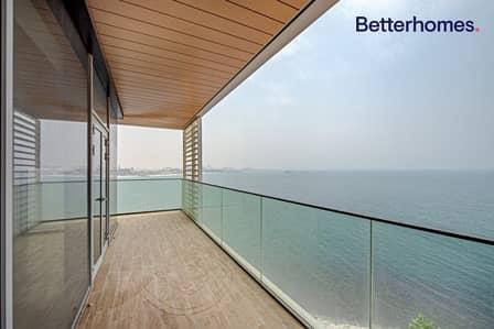 شقة 4 غرف نوم للايجار في جزيرة بلوواترز، دبي - Full Sea View l Unfurnished l Large Layout l Vacant