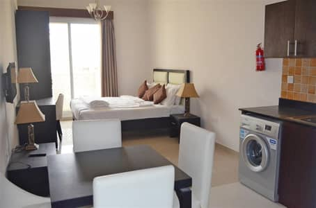 Studio for Sale in Jumeirah Village Circle (JVC), Dubai - Studio Furnished Vacant 428 sq ft Hanover Square JVC