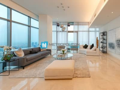 بنتهاوس 4 غرف نوم للبيع في دبي مارينا، دبي - 4BR Penthouse?Fully Furnished?High Floor?Sea View