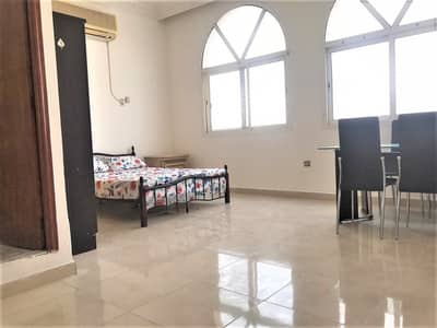 Studio for Rent in Al Muroor, Abu Dhabi - NO AGENT FEE! CHEAPER RENT! BIGGER SEMI-FURNISHED STUDIO IN MUROOR NEAR POLICE COLLEGE
