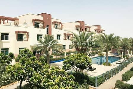 فلیٹ 2 غرفة نوم للبيع في الغدیر، أبوظبي - Pool View! Terraced 2 BR Apartment In Al Ghadeer