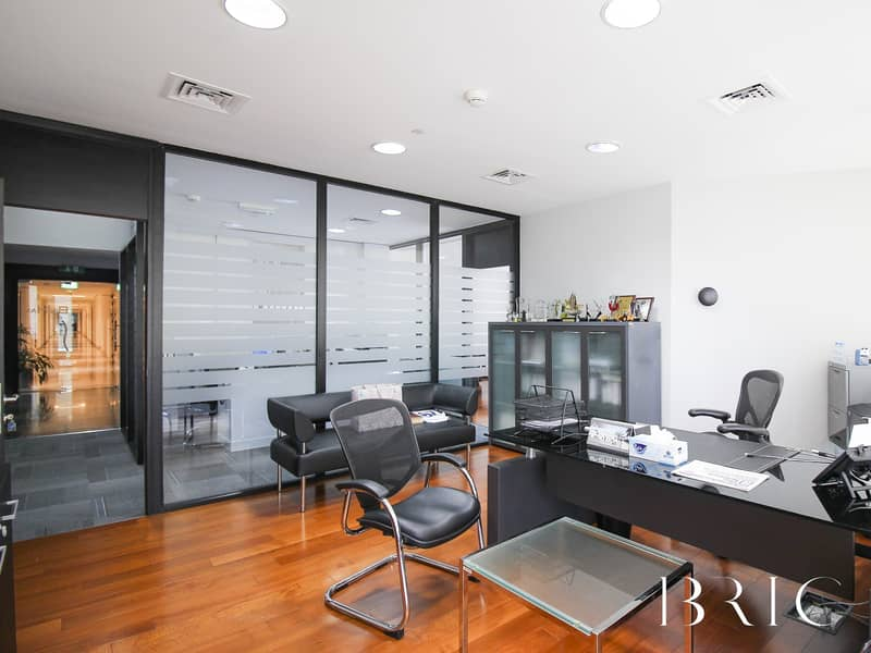 2 Quality fitted office with panoramic views