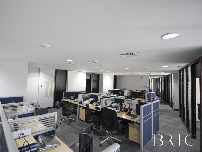 10 Quality fitted office with panoramic views