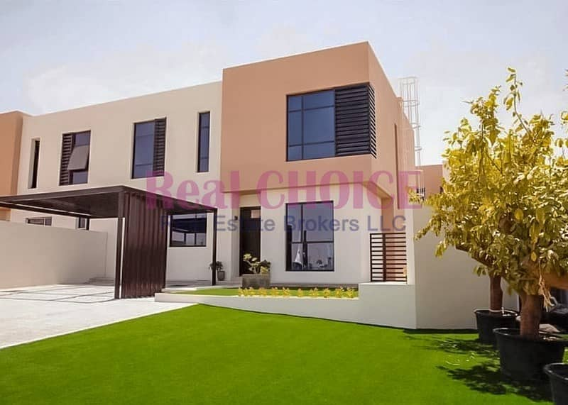2 Ready To Move In | Spacious Amazing 4 BR Villa