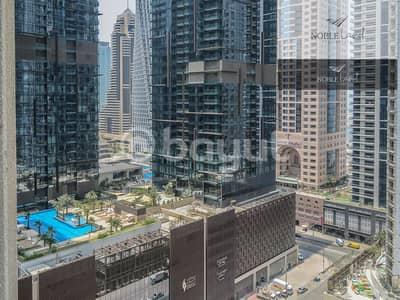 فلیٹ 1 غرفة نوم للايجار في دبي مارينا، دبي - Prime Location | Partial Sea View | High Floor