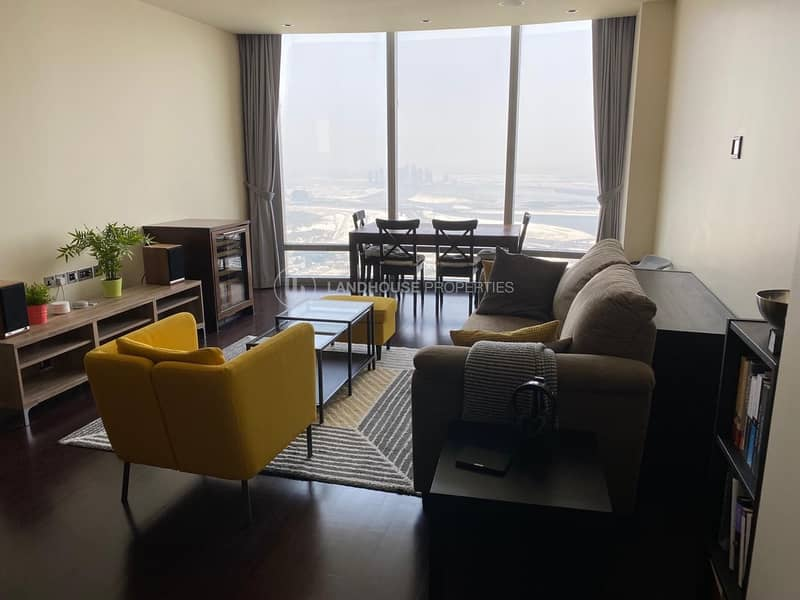 Biggest 1BR Furnished High Floor Fountains Views