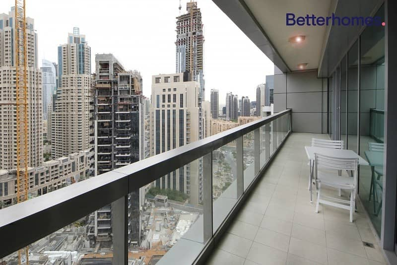 15 High Floor with Balcony | Downtown View