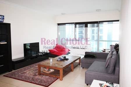 2 Bedroom Flat for Rent in Downtown Dubai, Dubai - Semi Furnished Partial Burj Khalifa View|2BR Unit
