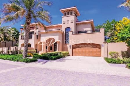 5 Bedroom Villa for Sale in Saadiyat Island, Abu Dhabi - Stunning Family Home With Huge Garden and Pool