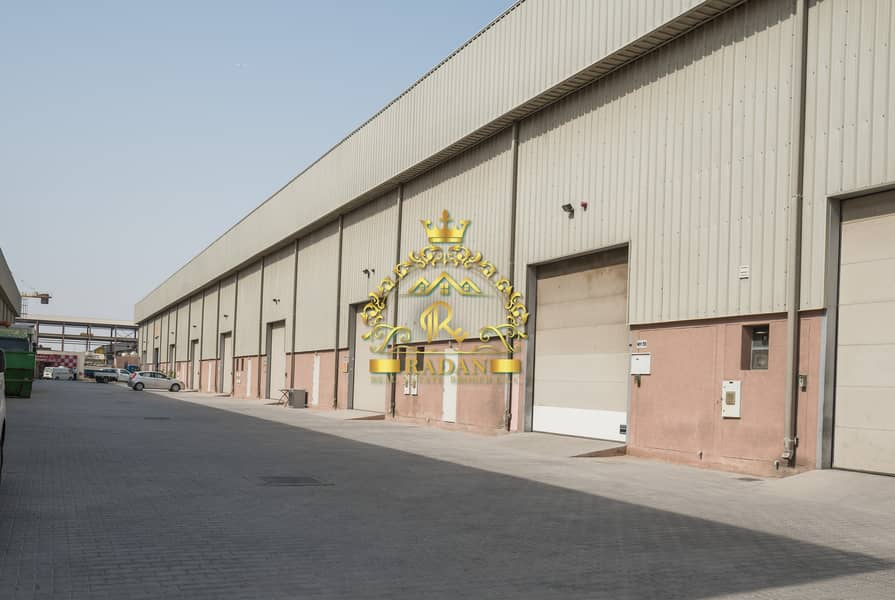10 2800 Sq.Ft Warehouse | 60.KW | Jebel Ali 1st