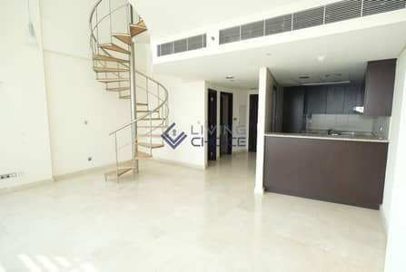 Huge 1BR Duplex | High Floor | Free Maintenance