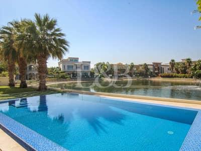 فیلا 6 غرف نوم للبيع في تلال الإمارات، دبي - Lake View | Vacant on Transfer | Furnished