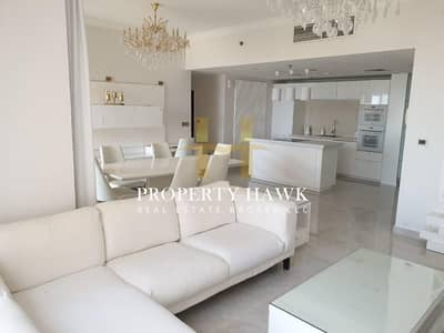 2 Bedroom Apartment for Rent in Jumeirah Beach Residence (JBR), Dubai - Upgraded 2BR Fully Furnished  Sea view Shams 2 JBR