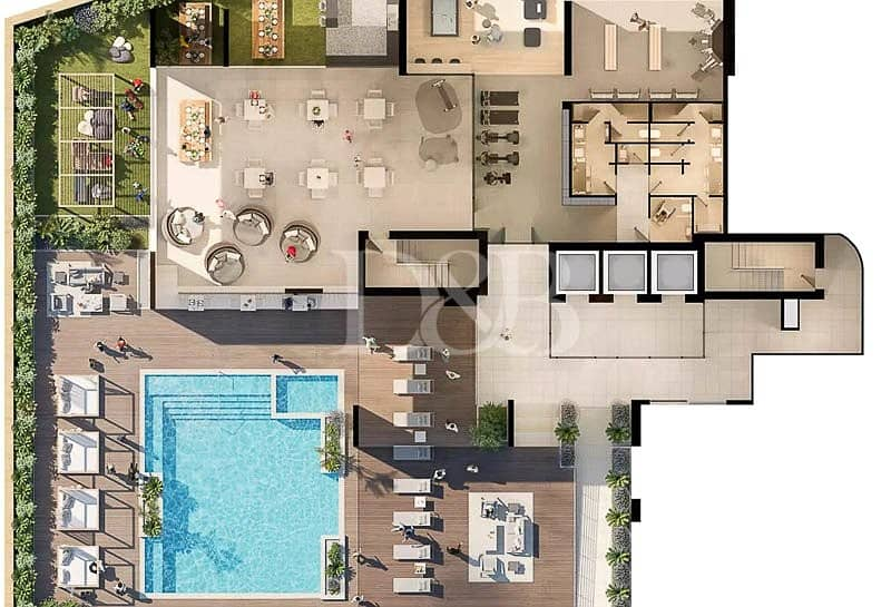 10 Center Of The City | Modern Design | Perf Layout