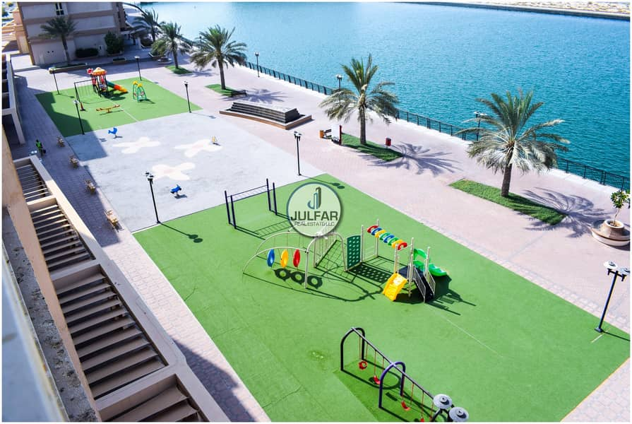 10 *Splendid Sea View* 1BHK For Rent In Mina Al Arab