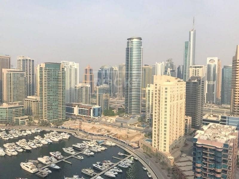 2 Chiller Free | Fully Furnished | 3 Bed plus Maids  | Dubai Marina