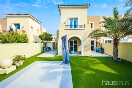فیلا 4 غرف نوم للبيع في المرابع العربية، دبي - Fully Upgraded | Park Backing | Next to JESS