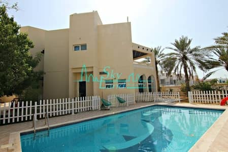 5 Bedroom Villa for Rent in Jumeirah, Dubai - Beautiful 5 Bed+M With A Private Pool And Garden