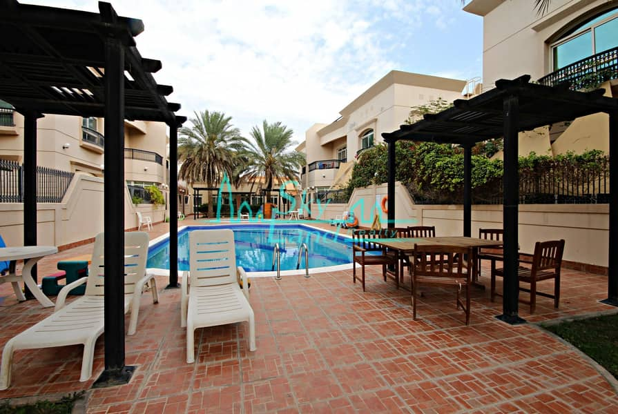 2 Superb|Very spacious| Bright 4 bed|Shared pool|Gym