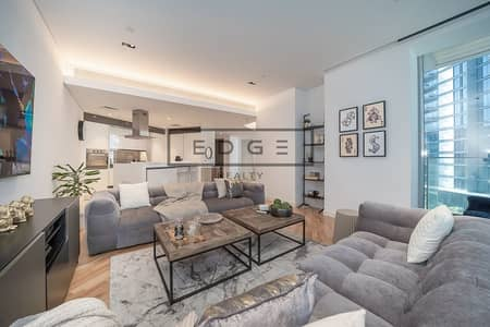 فلیٹ 1 غرفة نوم للايجار في جزيرة بلوواترز، دبي - Huge 1BR | Balcony | Modern Furniture