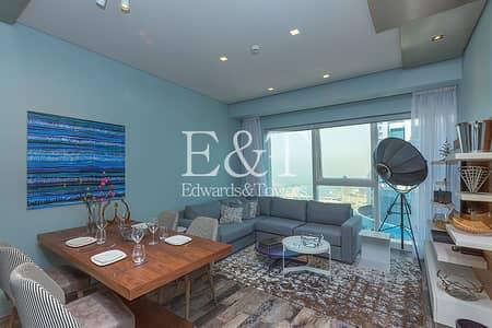 1 Bedroom Flat for Rent in Dubai Marina, Dubai - Luxury Furnished |Full Sea View| 5 Star Facilities