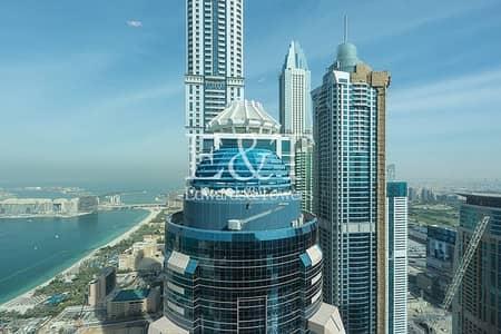 1 Bedroom Flat for Rent in Dubai Marina, Dubai - Luxury Furnished  Full Sea View  5 Star Facilities