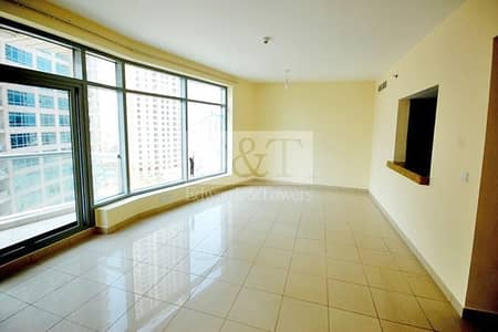 2 Bedroom Apartment for Rent in Dubai Marina, Dubai - Full Marina View Unfurnished High Floor Managed