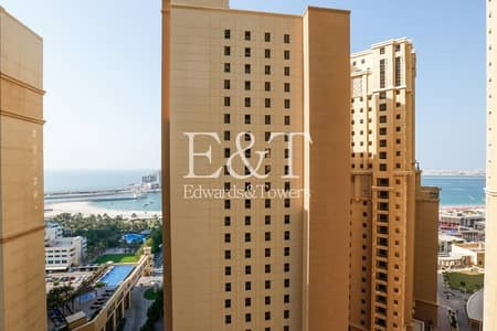 فلیٹ 2 غرفة نوم للبيع في جميرا بيتش ريزيدنس، دبي - Partial Sea|2 Bedrooms| Ready to Move in|Amwaj 4
