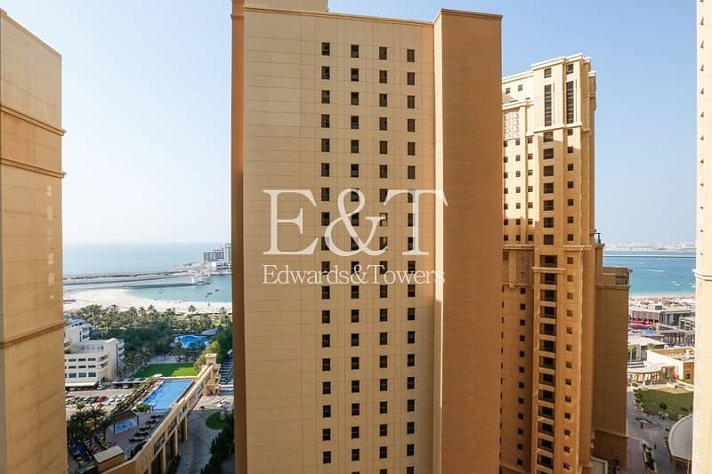 Partial Sea 2 Bedrooms  Ready to Move in Amwaj 4