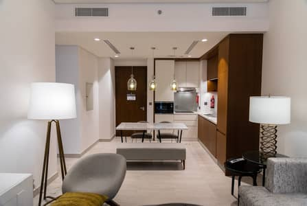 3 Bedroom Hotel Apartment for Rent in Al Garhoud, Dubai - Newly opened! Grand Mercure Hotel Apartments (near GGICO metro)  | Free WiFi  | Covered Parking