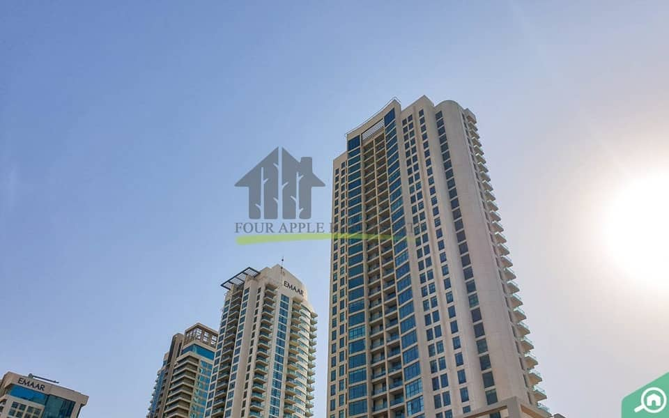 18 Chiller Free One Bedroom With Balcony AED 55000/-