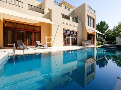 6 Bedroom Villa for Sale in Al Barari, Dubai - Luxurious Villa with 6 BR and Large Basement | AB