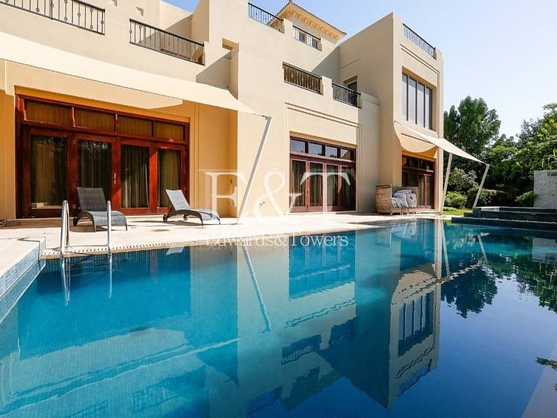 Luxurious Villa with 6 BR and Large Basement   AB