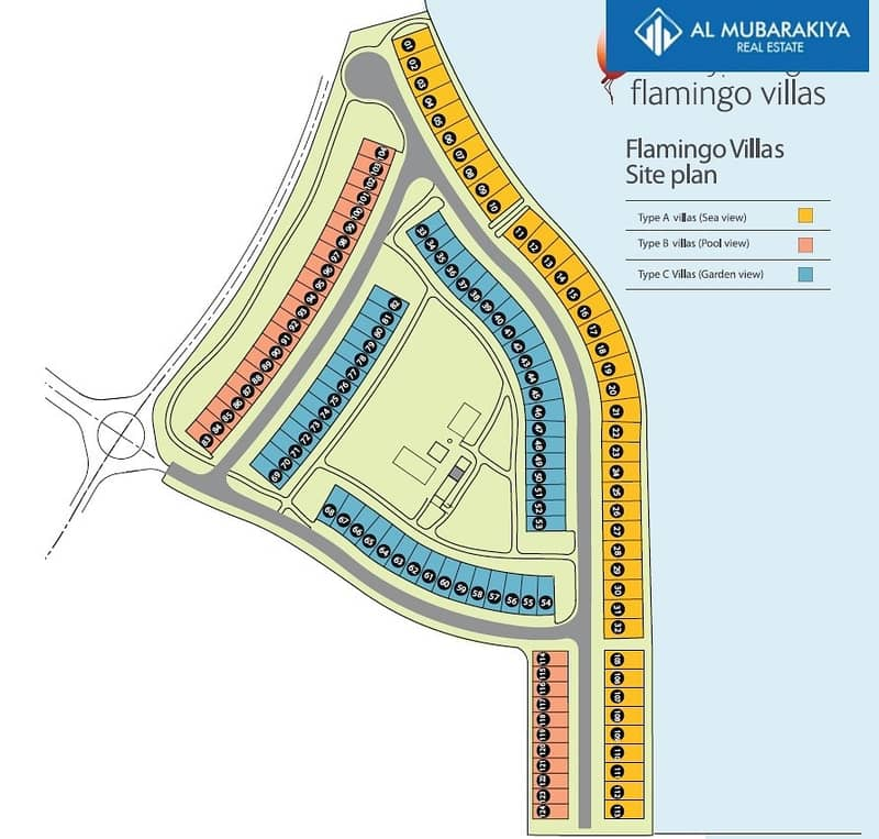 17 For Sale Amazing Sea View- Brand New 3BR Flamingo Townhouse-Furnished