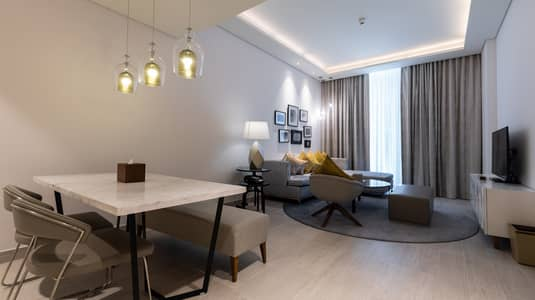 2 Bedroom Hotel Apartment for Rent in Al Garhoud, Dubai - Grand Mercure Hotel Apartment, best 2 bedroom offer (near GGICO metro/ Free WiFi/Free covered parking)