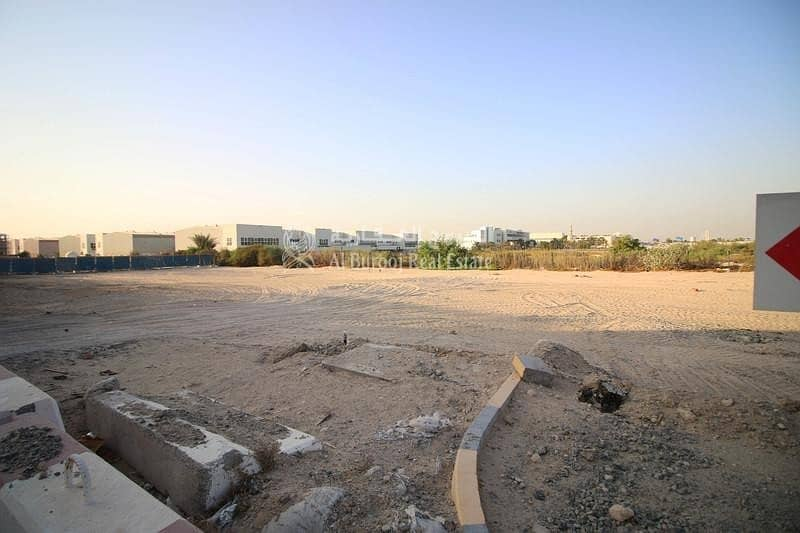 2 warehouse Plot in al warsan near dragon mart for sale