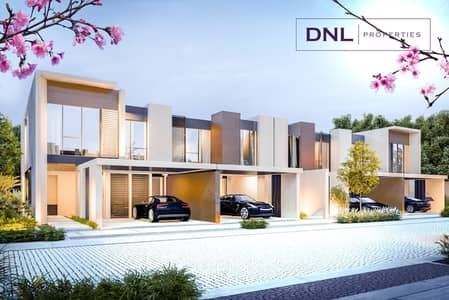 3 Bedroom Townhouse for Sale in Dubailand, Dubai - 5 Yrs Post Handover Plan | Pay 5% on Booking