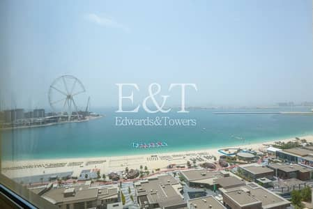 3 Bedroom Apartment for Sale in Jumeirah Beach Residence (JBR), Dubai - Panoramic Views of Sea and Dubai Eye| 3 Bedrooms.
