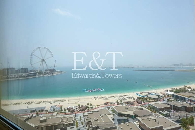 Panoramic Views of Sea and Dubai Eye| 3 Bedrooms.