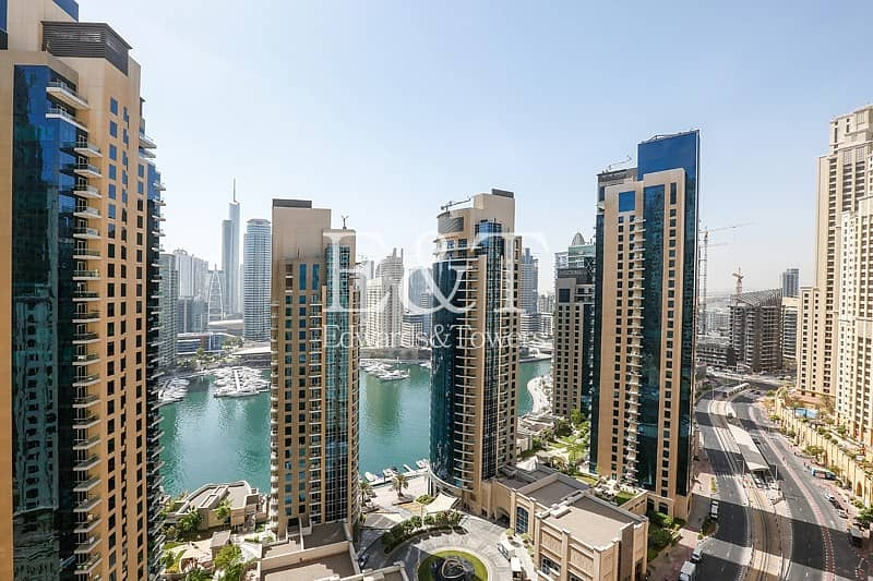 Marina and Sea View | Spacious 3 Bedrooms| Rimal 5